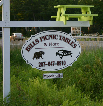 Bills Picnic Tables and More