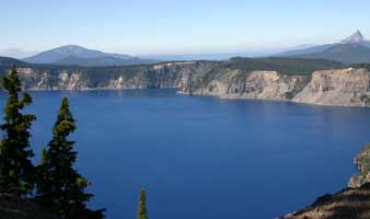 Crater Lake and Mout Thierney