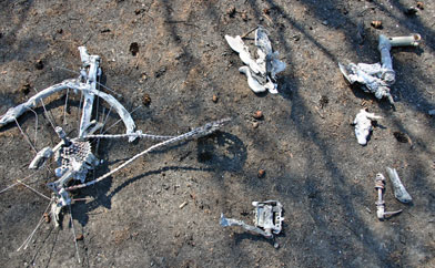 Melted Mountain Bike