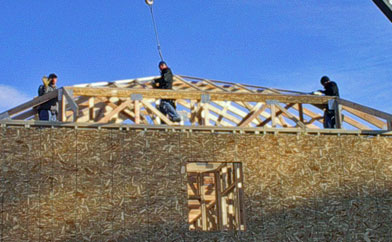Securing Trusses