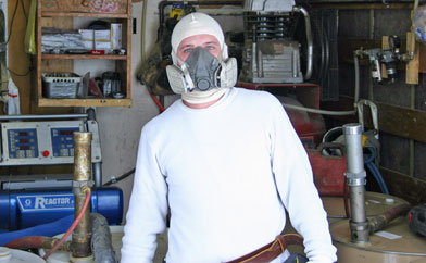 Urethane insulation protective suit