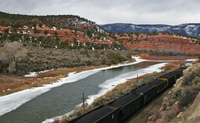 Colorado Coal Train