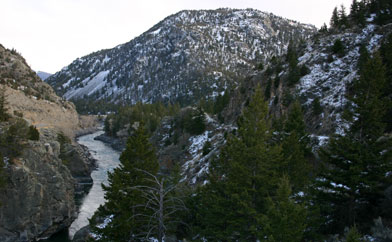 Yellowstone Trail and River