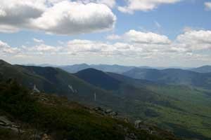 Peaks to the South and East of Mt Washington